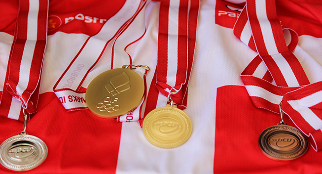 DM2016 medaljer
