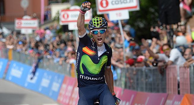 Valverde glæder sig over sejr nummer 100