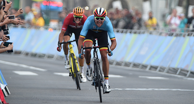 OL Rio2016 Jakob Fuglsang og Greg Van Avermaet finale