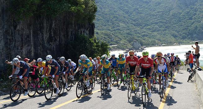 OL Rio2016 peloton opad