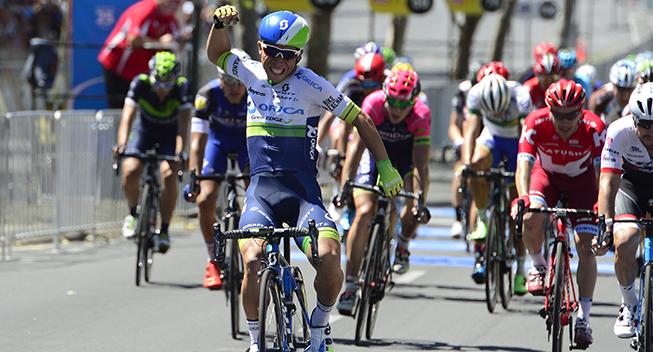 TdU2016 6 etape Caleb Ewan etapesejr