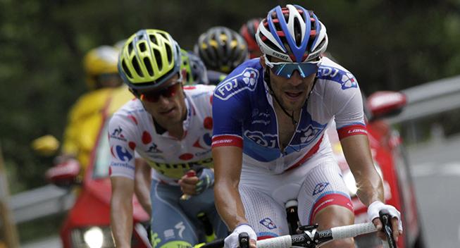 Pinot vandt mens Contador imponerede