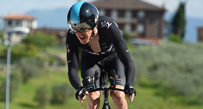 Giro2017 10 etape ITT Geraint Thomas
