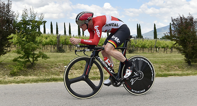 Giro2017 10 etape ITT Maxime Monfort