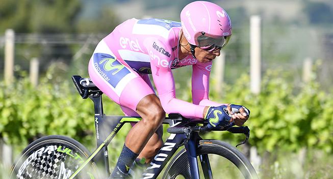 Giro2017 10 etape ITT Nairo Quintana