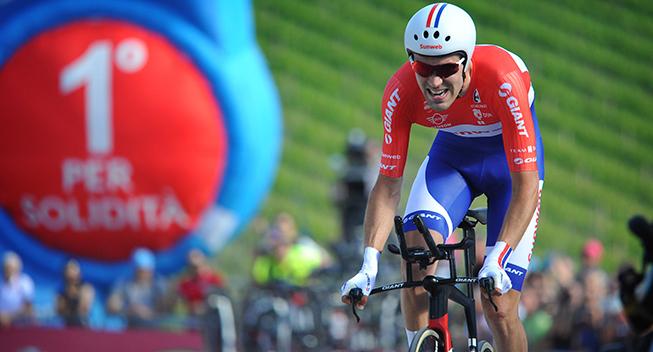 Giro2017 10 etape ITT Tom Dumoulin