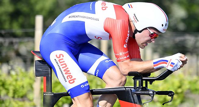 Giro2017 10 etape ITT Tom Dumoulin        1