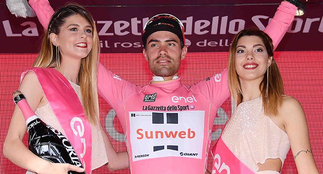 Giro d'Italia fortsætter med podiepiger
