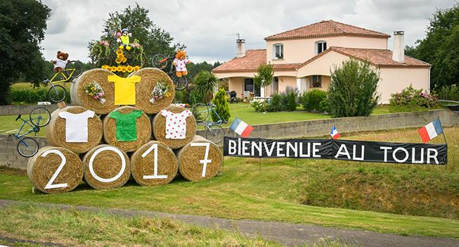 TdF2017 11 etape Bienvenue au Tour