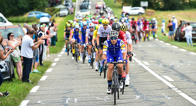 TdF2017 11 etape Gianluca Brambilla arbejder