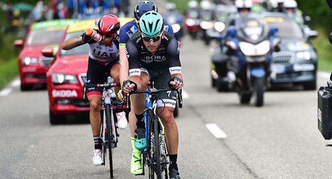 TdF2017 11 etape Maciej Bodnar - Frederik Backaert og Marco Marcato i udbrud