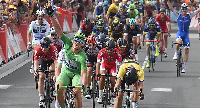 TdF2017 11 etape Marcel Kittel etapesejr nummer fem