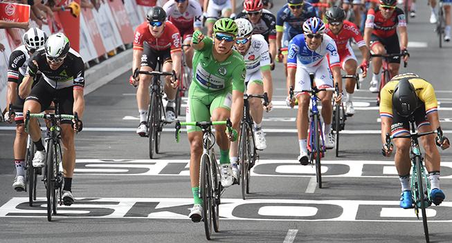 TdF2017 11 etape Marcel Kittel sejr