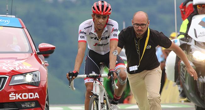 TdF2017 12 etape Alberto Contador finish