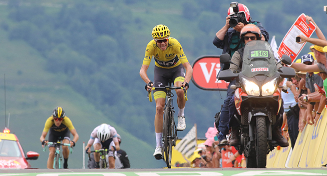TdF2017 12 etape Chris Froome finish