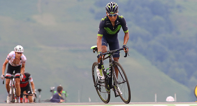 TdF2017 12 etape Nairo Quintana finish