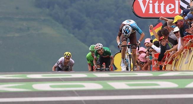 TdF2017 12 etape Romain Bardet angreb