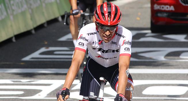 TdF2017 13 etape Alberto Contador finish