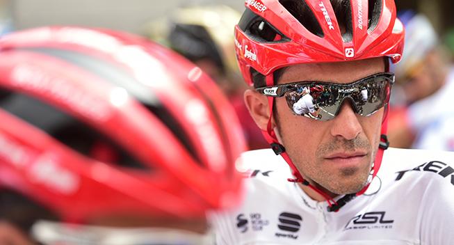 TdF2017 13 etape Alberto Contador prestart