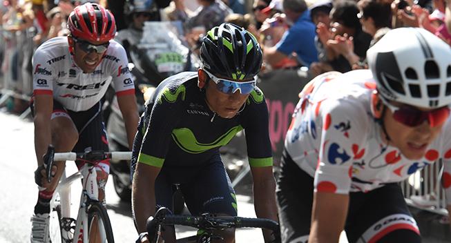TdF2017 13 etape Barguil Quintana og Contador
