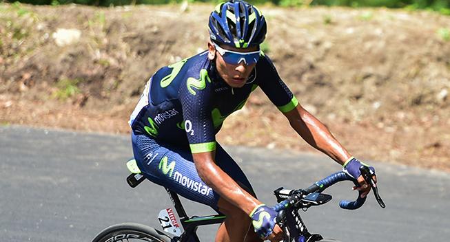 TdF2017 13 etape Nairo Quintana angreb