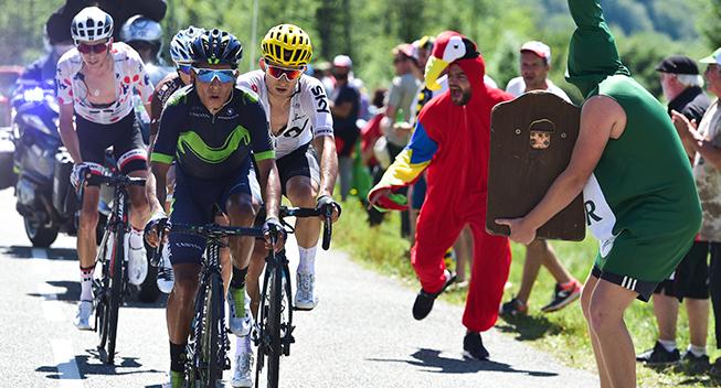 TdF2017 13 etape Quintana Vuillermoz Kwiatkowski og Barguil