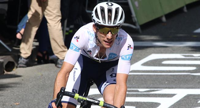TdF2017 13 etape Simon Yates finish