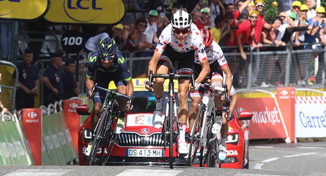 TdF2017 13 etape Warren Barguil spurt