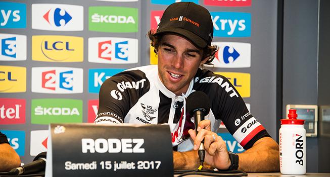 TdF2017 14 etape Michael Matthews efter etapen
