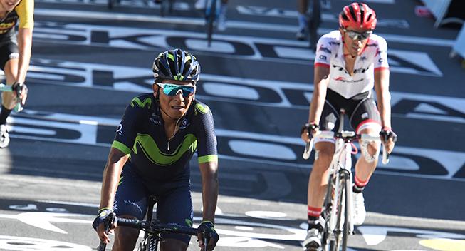 TdF2017 14 etape Nairo Quintana finish