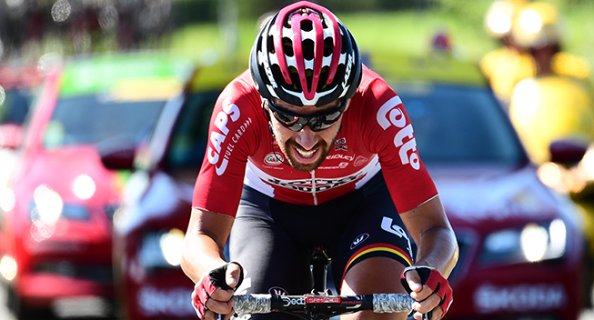 TdF2017 14 etape Thomas De Gendt udbrud