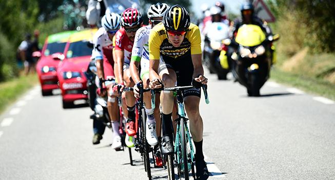 TdF2017 14 etape Timo Roosen arbejder i udbruddet
