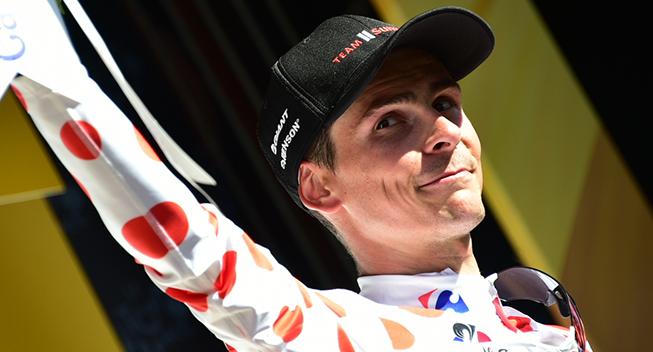 TdF2017 14 etape Warren Barguil podiet bjergkonkurrencen