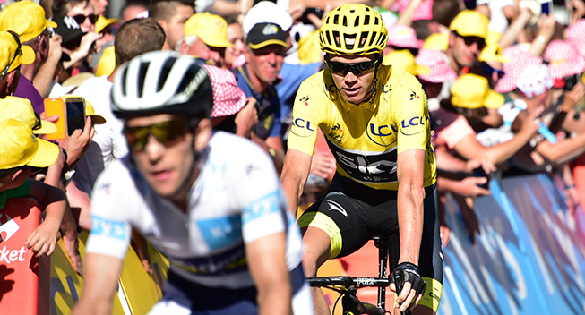 TdF2017 15 etape Chris Froome finish