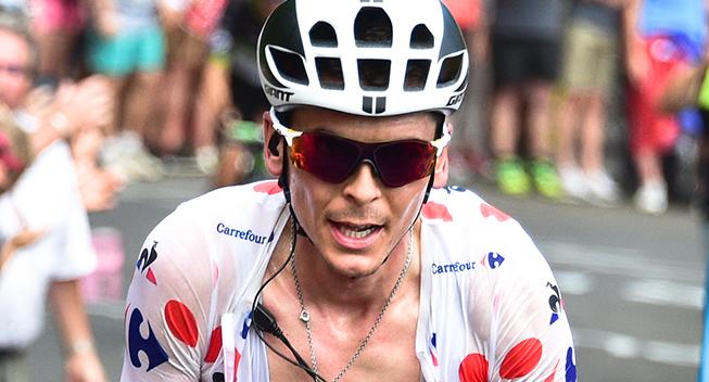 TdF2017 15 etape Warren Barguil i prikker