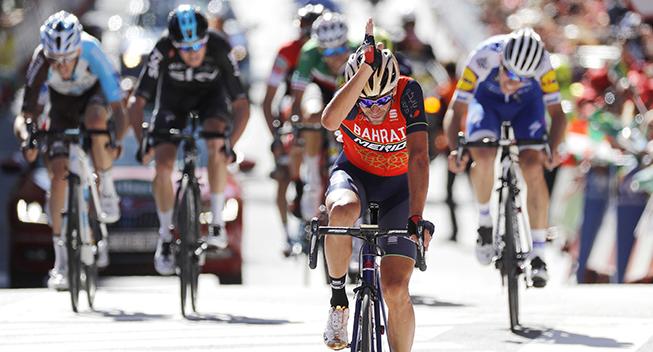 Vuelta 2017 3 etape Vincenzo Nibali sejr