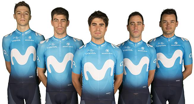 Movistar klar med bruttotruppen til Tour de France