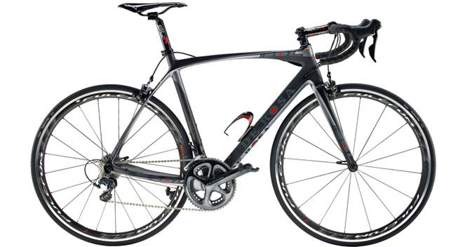 størrelser på cykler