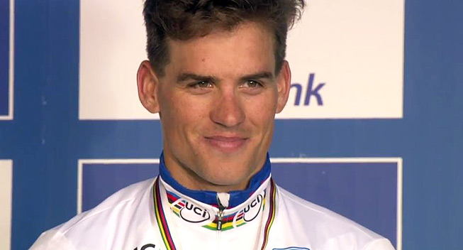 Photo: What can I mainly regret is that I did not really enjoy my rainbow jersey.