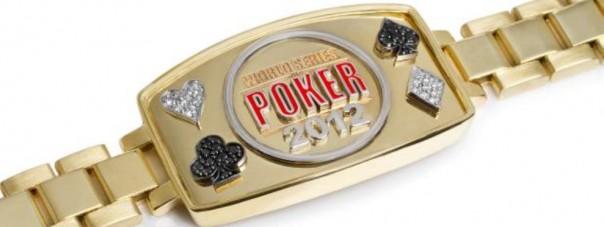 Sådan ser det ud: WSOP bracelet 2012 præsenteret