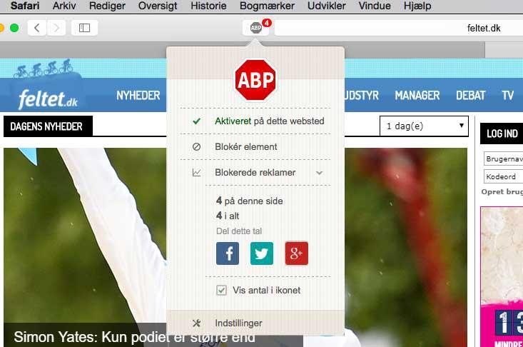AdblockPlus Safari