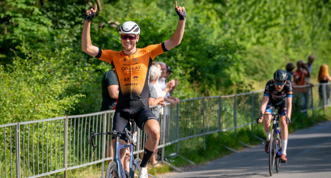 Bøgh Wallin indtager Amager: Vinder jubilæumsløb