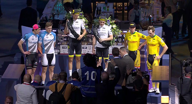 Norman og Hester mistede sejren i Rotterdam