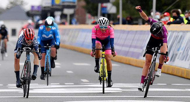 Winder vinder Brabantse Pijl efter målfoto