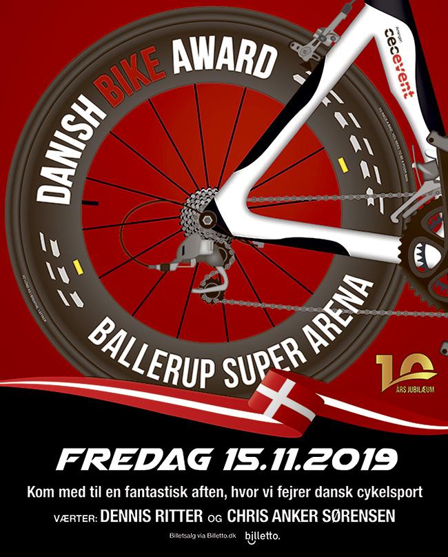 Danish Bike Award 2019 - Køb billet