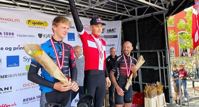 Simon Andreassen blev dansk mester i VM-testen