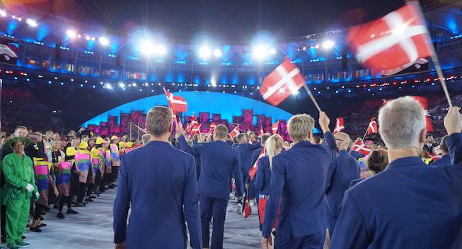 Dansk jubel: OL-atleter får vaccinedonation