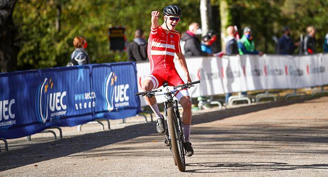 Dansker bliver europamester på mountainbike