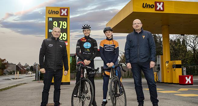 Uno-X fortsætter støtten til dansk cykelsport