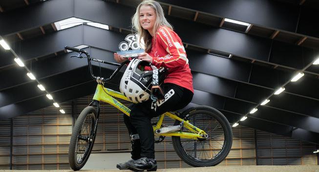 Malene Kejlstrup Sørensen er Årets Talent i dansk cykelsport